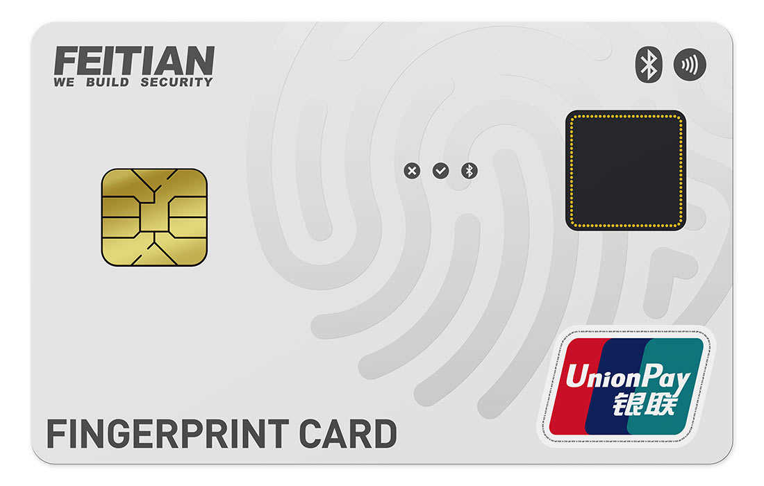 Fingerprint Card UnionPay
