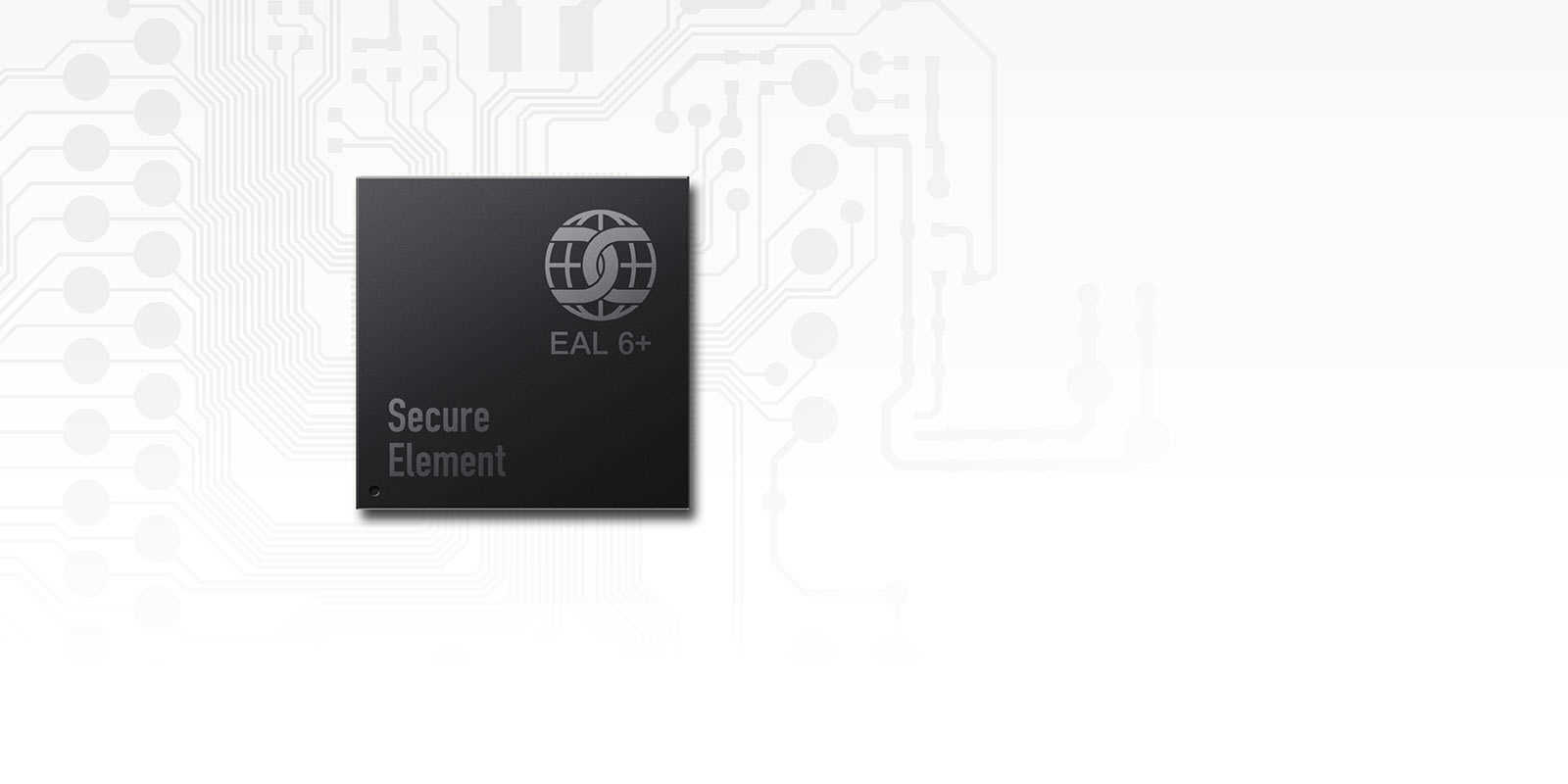 CC EAL6+ certified secure element